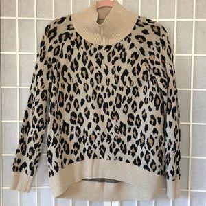 Loft leopard sweater